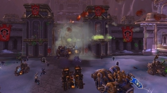 A Wintergrasp battle