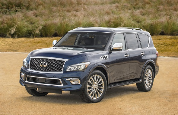 2015 Infiniti QX80/ Deluxe Technology trim package/ Usage for all USA Public Relations and Social Media. No time limit