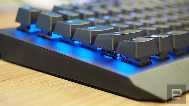 Razer's gaming keyboards now sport a more pared-down design