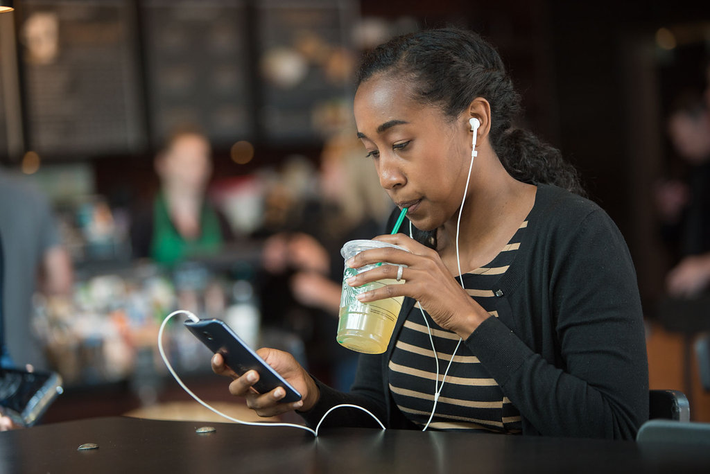 Starbucks' app is now a Shazam for coffee shop beats
