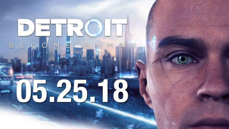 Detroit: Become Human llegará el 25 de mayo en exclusiva a PS4