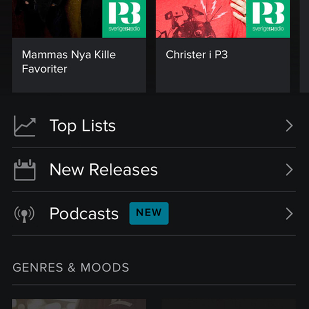 Spotify podcast code