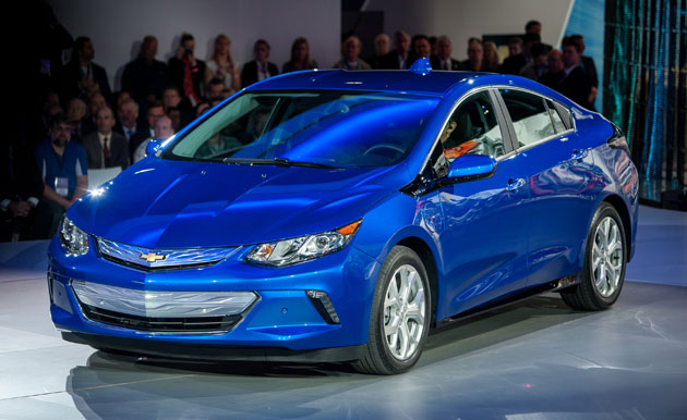 Chevy's 2016 Volt costs just $25,000 if you live in California