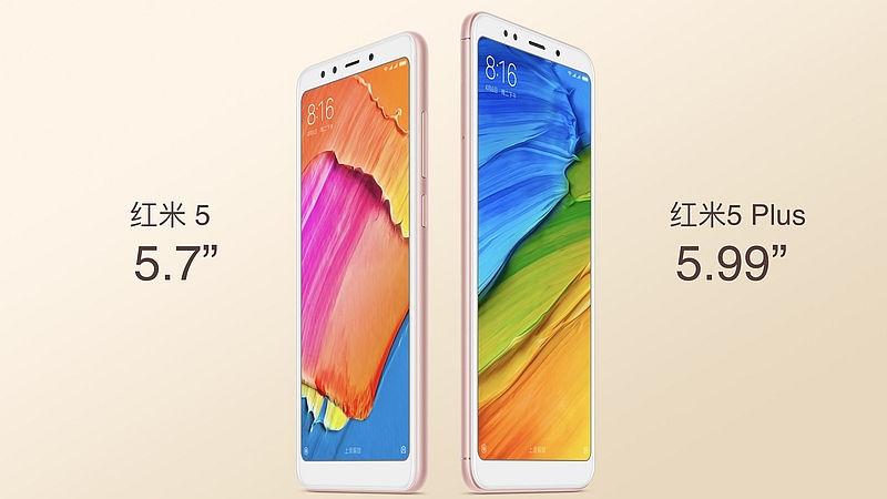Xiaomi Redmi 5 und Redmi 5 Plus vorgestellt