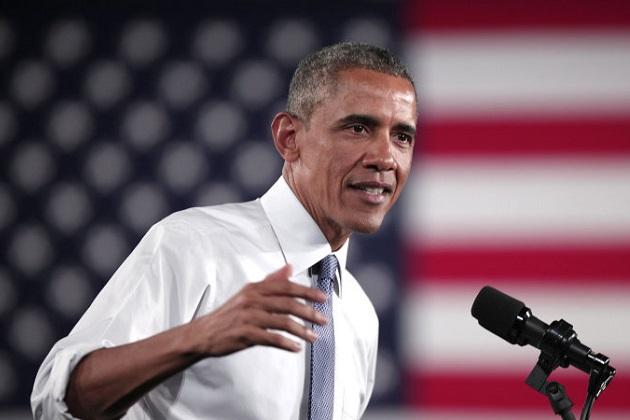 オバマ大統領、自動車産業の回復に向けて北米国際自動車ショーに来場