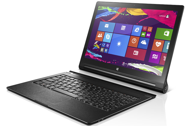 lenovo yoga tablet 2 jetzt auch mit windows in 13 zoll. Black Bedroom Furniture Sets. Home Design Ideas