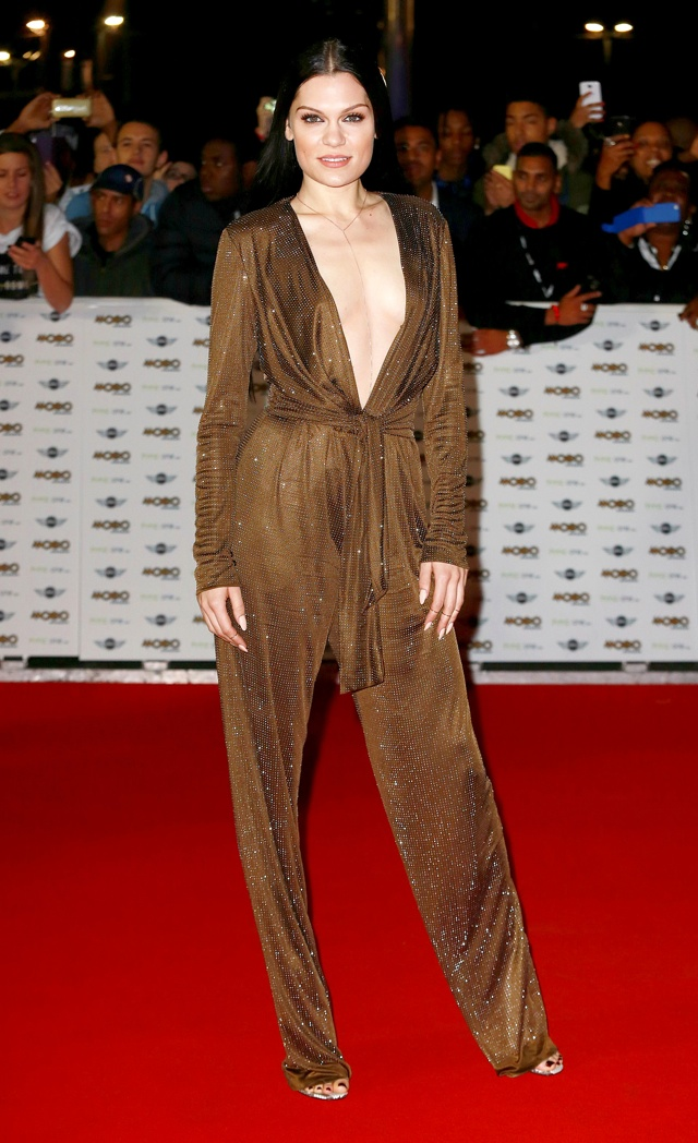 Jessie J leads fashion pack at Mobo Awards 2014