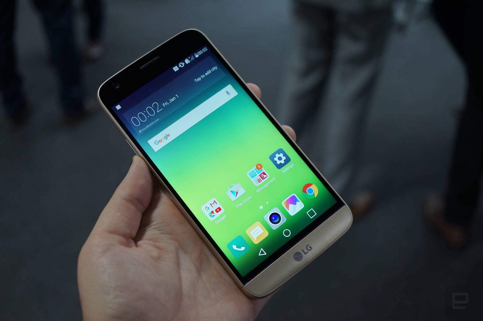 8 minutos con el LG G5 y sus particulares módulos