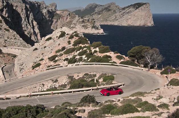Porsche Boxster GTS in Majorca
