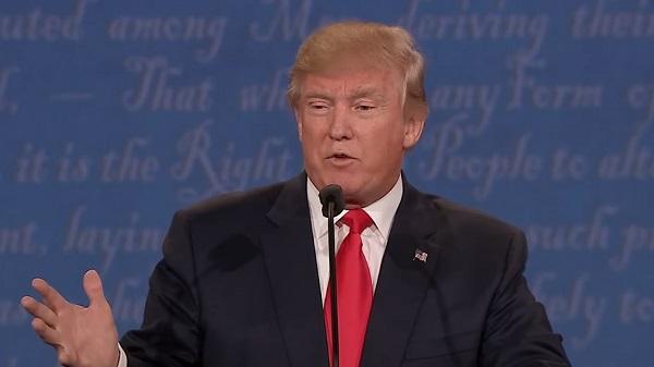 米大統領選最後のテレビ討論会でのトランプ氏のある一言がネット上で話題に
