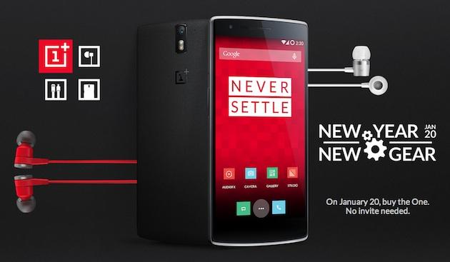 ¿Quieres un OnePlus One? El 20 de enero podrás comprarlo (otra vez) sin invitación