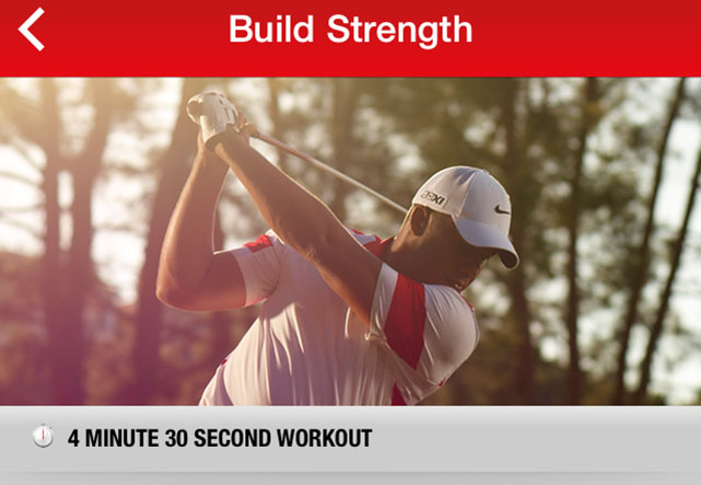 Nike Golf 360 screenshots