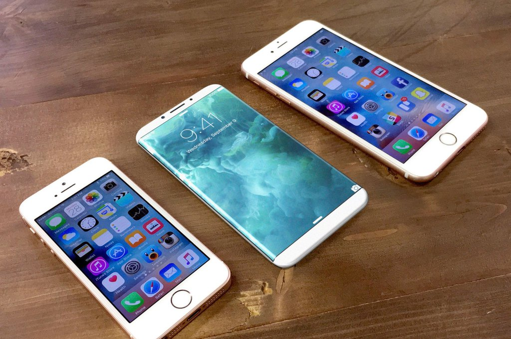 Resultado de imagen para Apple está trabajando en un iPhone con pantalla curva