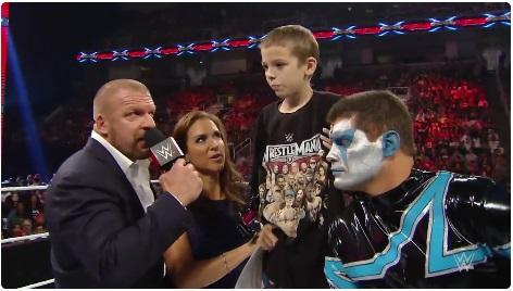 小児がんの8歳の少年が世界最大のプロレス団体「WWE」と契約!スーパースター達が闘病を応援