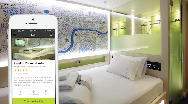 Premier Inn's new smart hotel lets you book, check in and get cosy with an app
