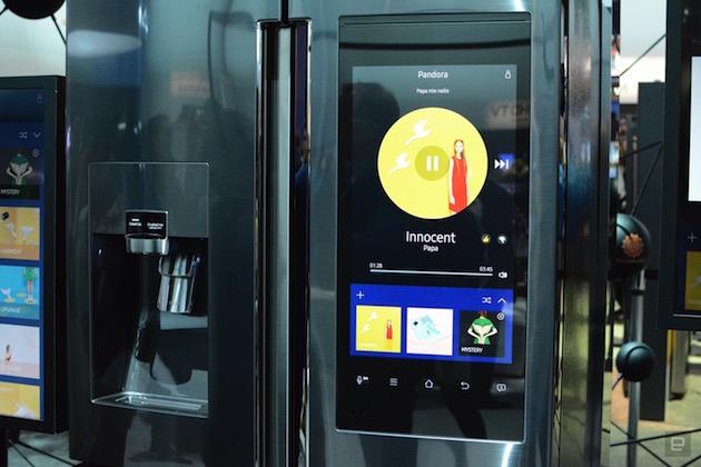 Samsung Family Hub Smart-Kühlschrank - Engadget Deutschland | {Kühlschränke samsung 75}