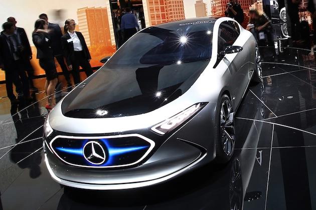 【ビデオ&フォト】メルセデス・ベンツ、電気自動車のコンパクト・クラスを示唆する「コンセプト EQA」を発表!