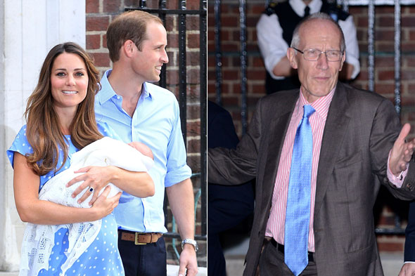 Duchess of Cambridge's doctor Sir Marcus Setchell talks about Prince George's birth