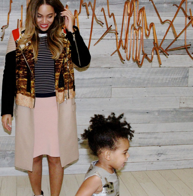 Blue Ivy steals limelight in cute snaps shared by mum Beyonce