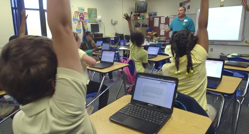 Los colegios americanos ya compran más Chomebooks que iPads