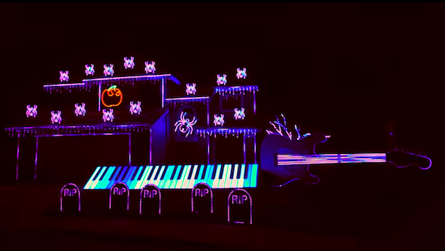 LED-Wahnsinn: Die beste Lichtshow für Halloween 2017