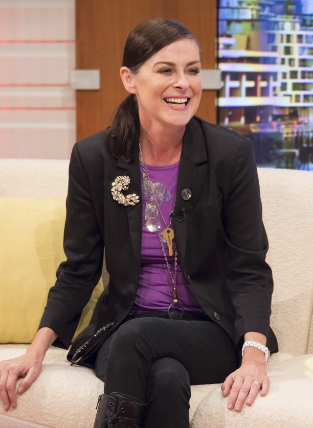 Lisa Stansdield wears 'cunty' necklace on Good Morning Britain