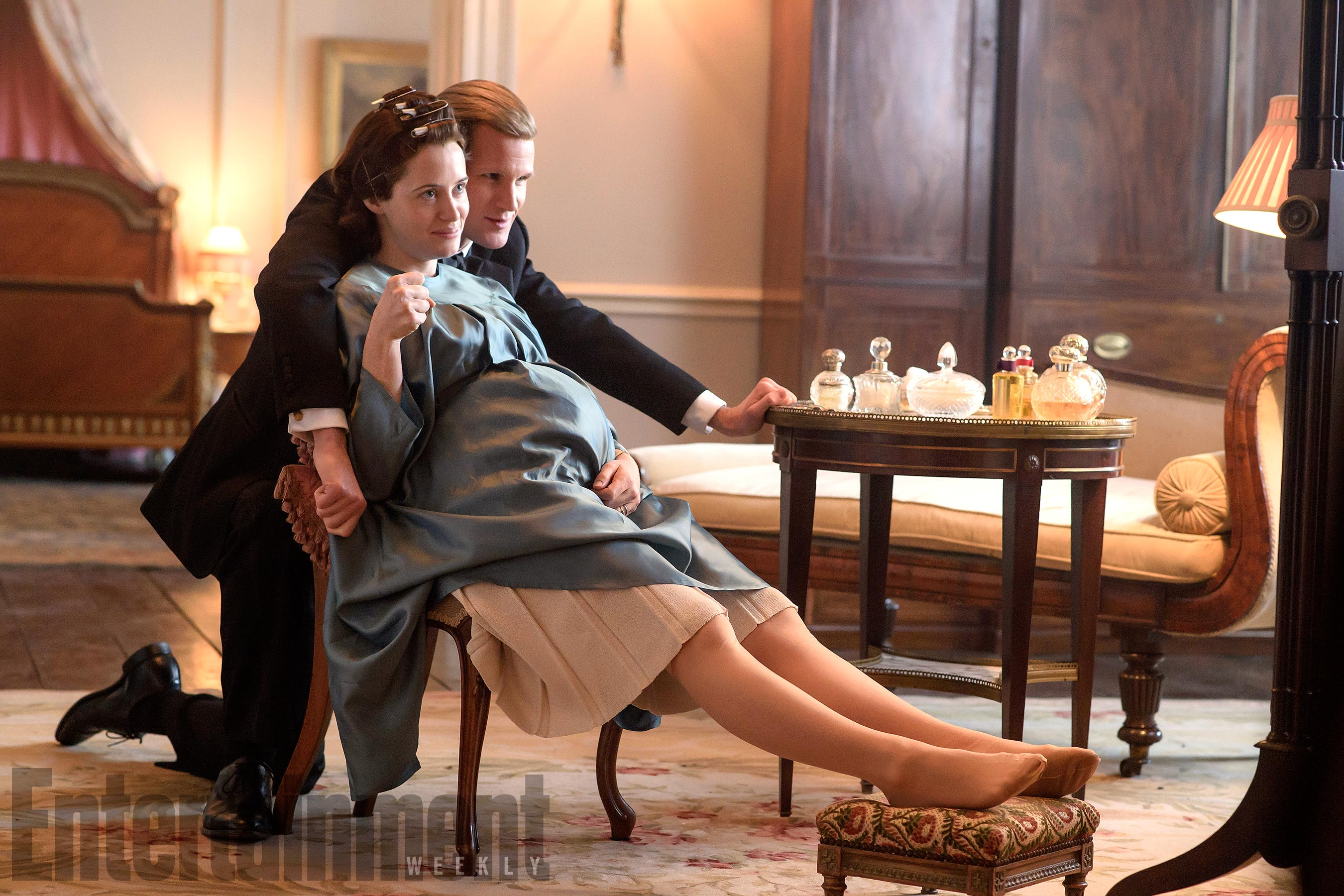 The Crown(L to R) Matt Smith,  Claire Foy