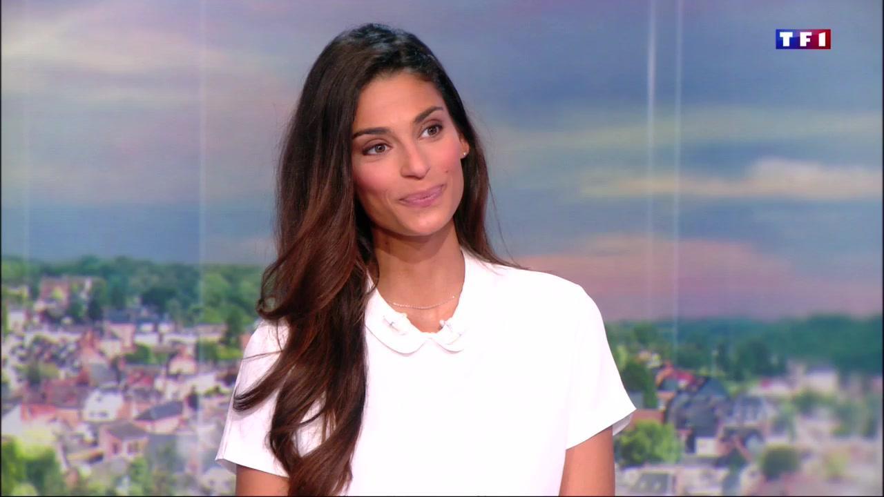 TF1                   Tatiana Silva présentatrice Météo sur TF1