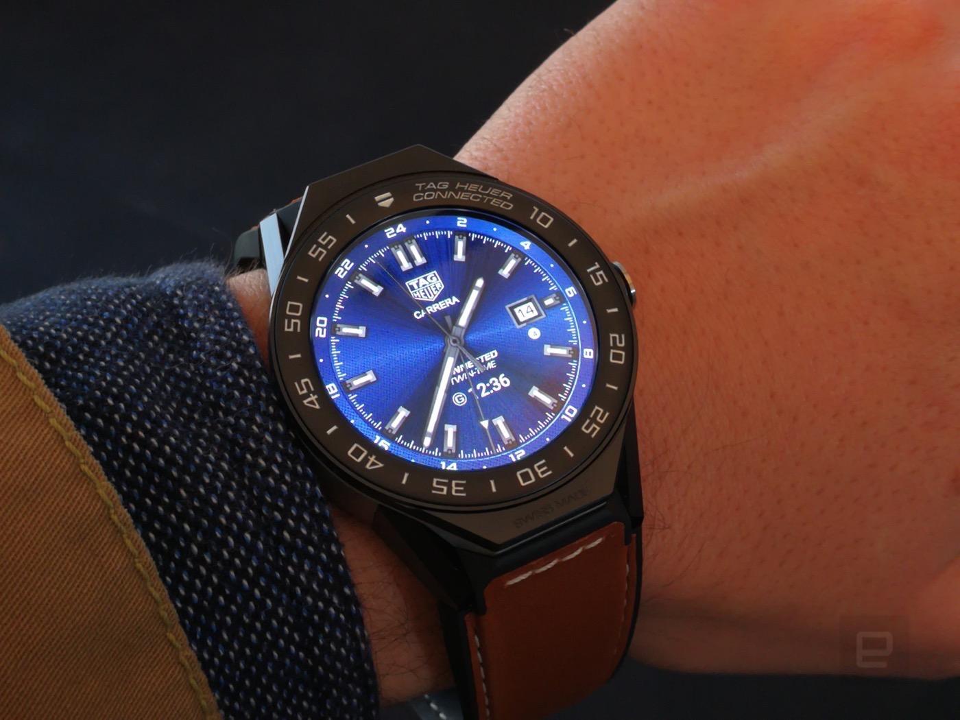 Intel y TAG Heuer dan vida a este bonito smartwatch modular