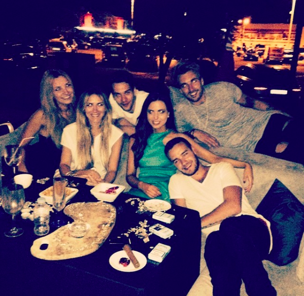 liam payne sophia smith instagram pics dinner
