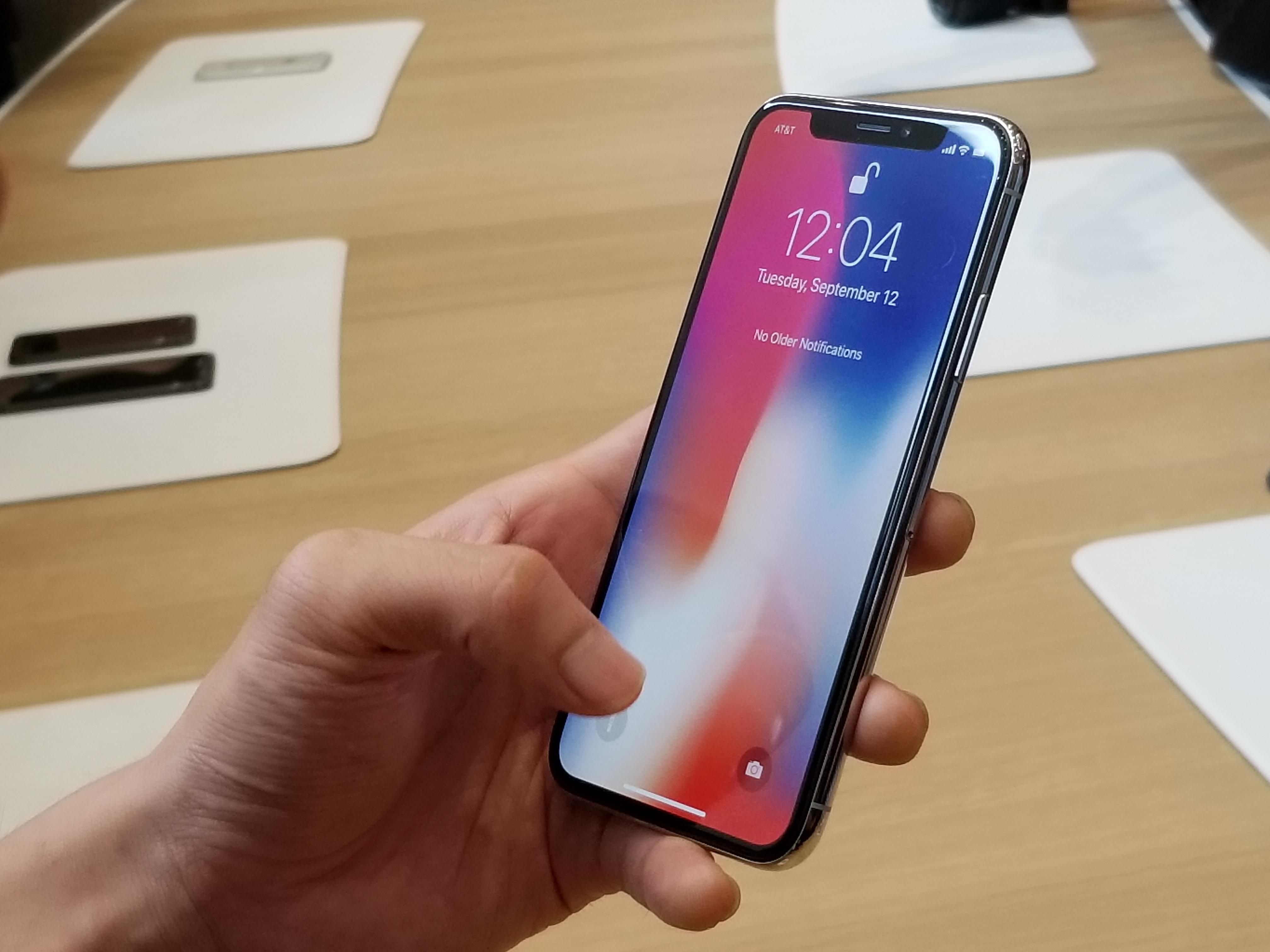 Así es el Apple iPhone X visto de cerca