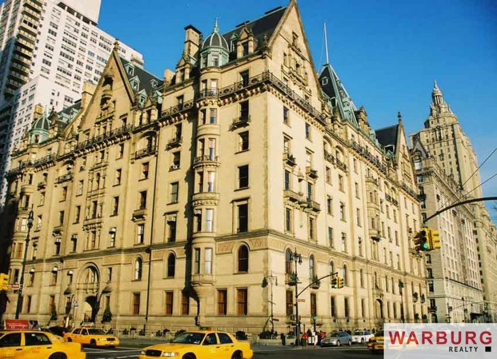 The Dakota, once home to John Lennon, is one of the most famous apartment buildings overlooking Central Park.