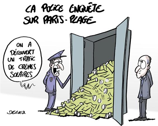 Enquête sur le financement des éditions 2012 et 2013 — Paris Plages