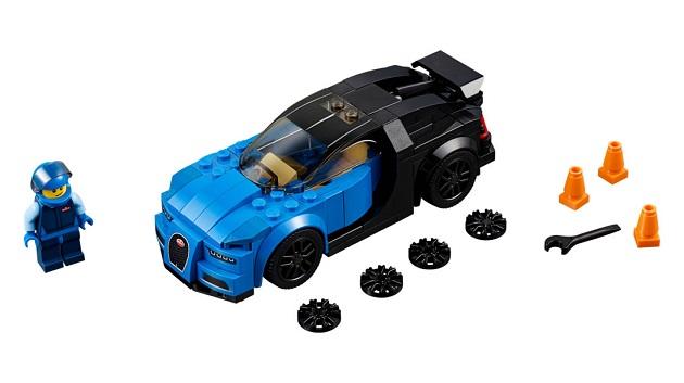 ブガッティ「シロン」が手頃な値段で買える! スーパーカーやF1マシンのレゴ・セットが一挙登場