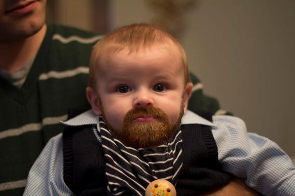 manliest photos on the internet, funny manly images, baby with beard