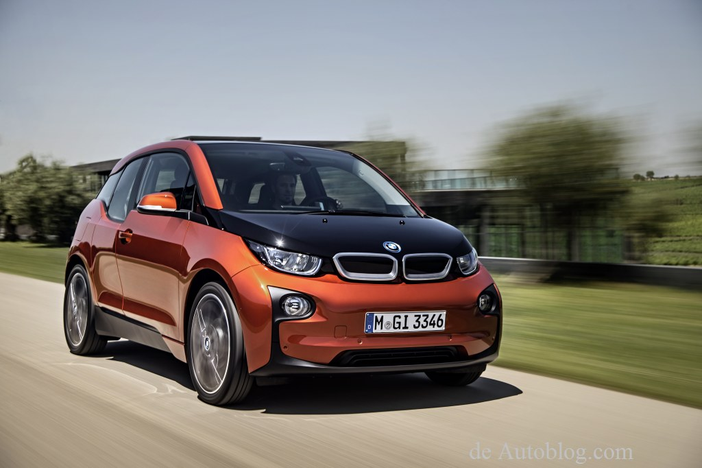 Green car of the year 2015: BMW i3