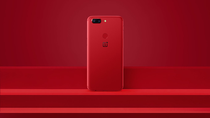 Das rote OnePlus 5T erscheint zunächst nur in China