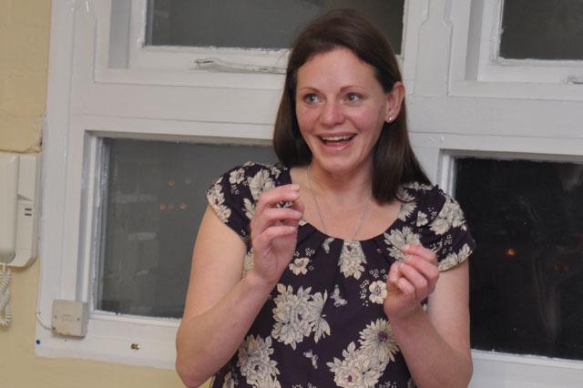 Parentskool founder Sarah Watkins