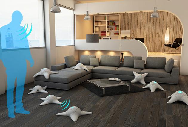 tody ein schwarm roboterkraken putz boden w nde und. Black Bedroom Furniture Sets. Home Design Ideas