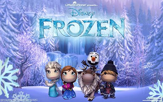 LittleBigPlanet 3 finds Frozen DLC, refuses to Let It Go