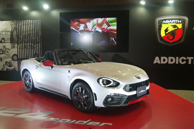 マツダの工場で生産されるイタリア車、新型「アバルト 124スパイダー」の日本導入が発表!