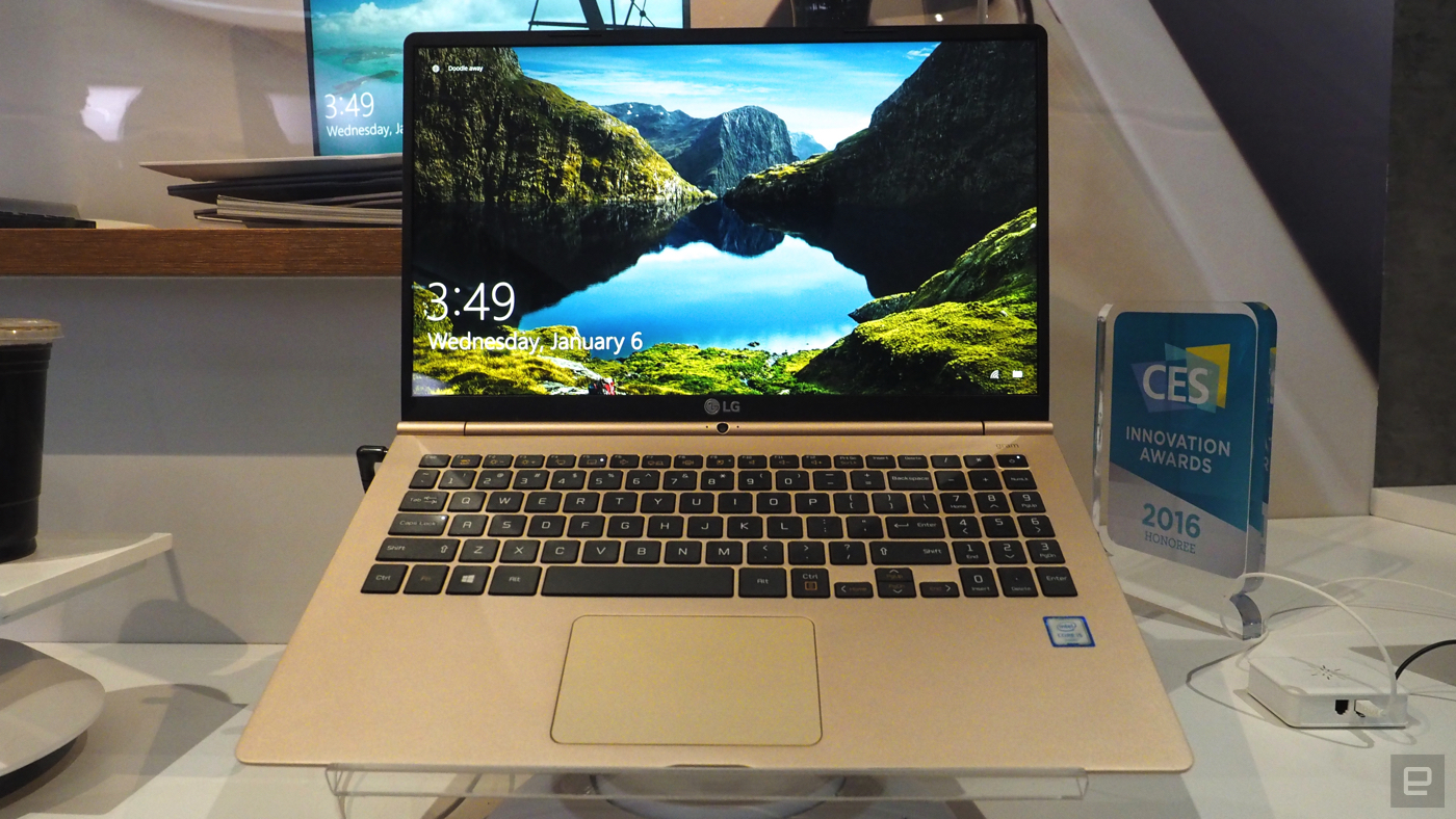 LG takes a cue from Apple's gold MacBook with the Gram 15
