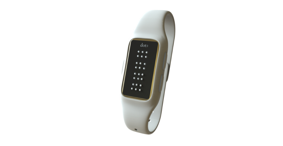 World's first braille smartwatch is an ebook reader and more
