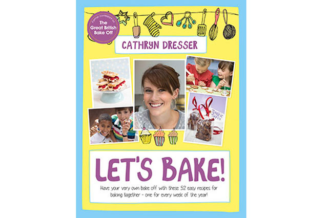 Great British Bake Off star Cathryn Dresser's new book, Let's Bake