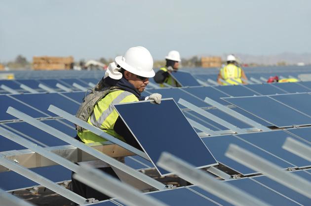 A First Solar farm in Blythe, California