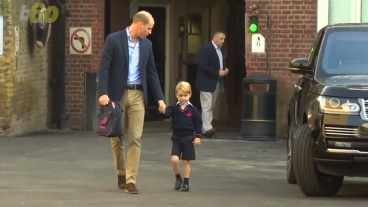 ウィリアム王子、ジョージ王子が学校に行きたがらないと漏らす