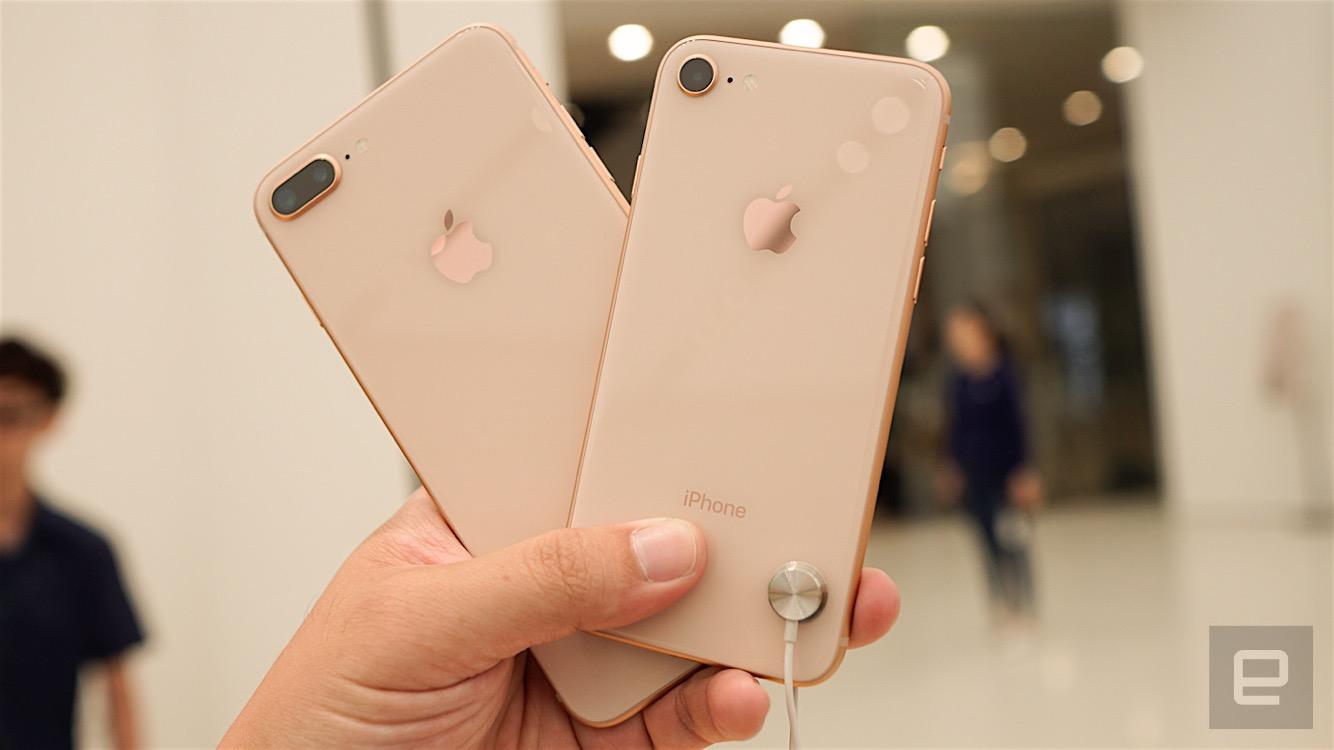 苹果 iPhone 8 / 8 Plus 正式开卖动手玩