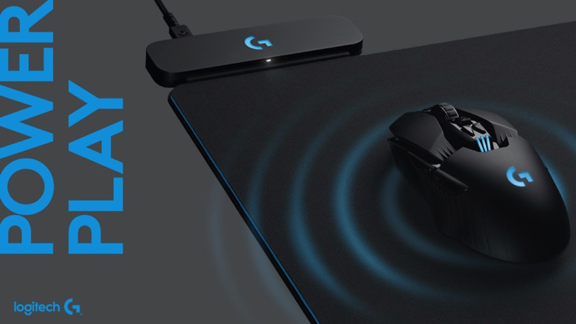 Logitech G Powerplay: Mauspad lädt Maus drahtloser auf class=