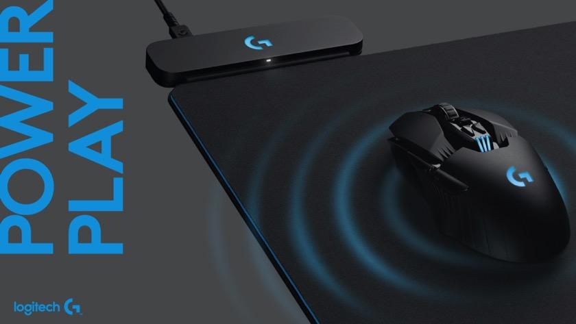 Logitech G Powerplay: Mauspad lädt Maus drahtloser auf