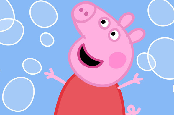 toddler's awe-struck reaction to meeting Peppa Pig is priceless (video)